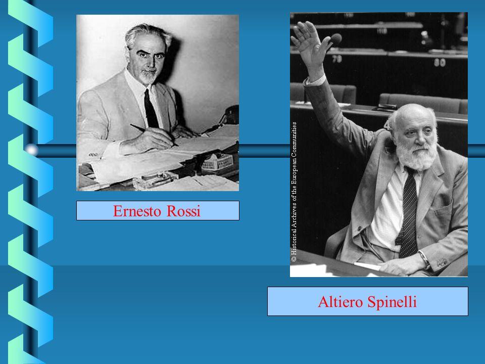 Ernesto Rossi Altiero Spinelli