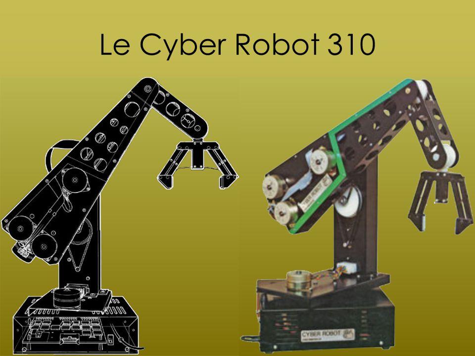 Présentation du Robot Cyber 310 Conçu par la société Cyber Robotics Composé de 6 moteurs pas-à-pas 6 mouvements dont 5 rotations Introduction
