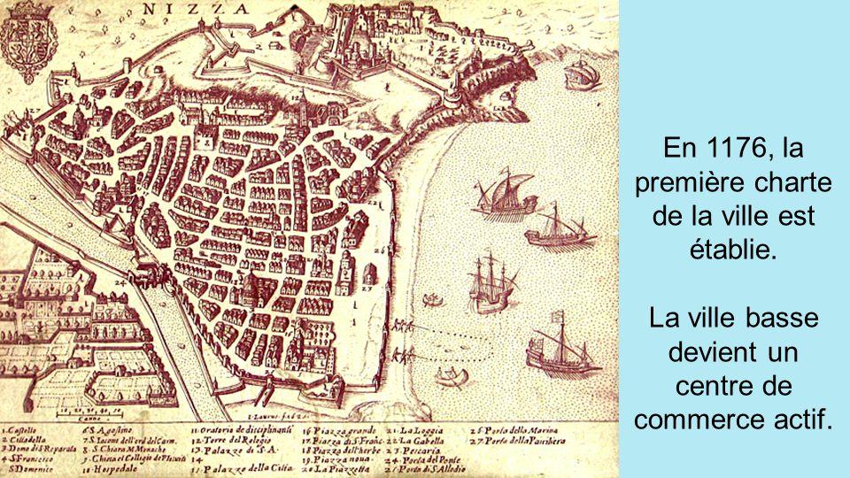Puis, au Vème siècle, CEMENELUM est abandonnée au profit de NIKAIA. Les sarrasins ravagent la ville en 813, et étendent leur domination sur toute la P
