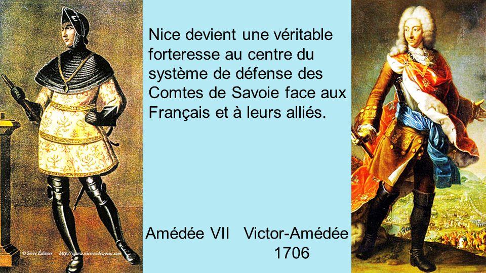 Le 28 septembre 1388, pour échapper à ses rivaux victorieux, NICE se place sous la protection du Comté de Savoie, Amédée VII. C'est la dédition de Nic