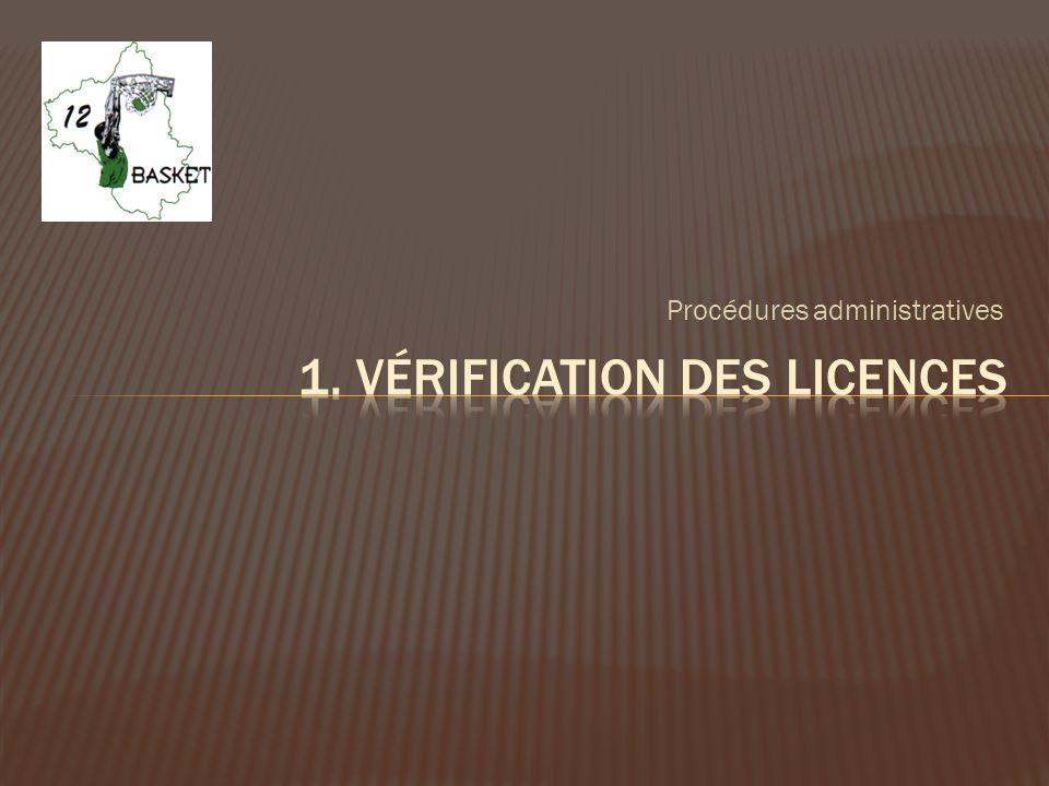 Rappel : le 1 er arbitre est le garant de la vérification et des inscriptions sur la feuille de marque.