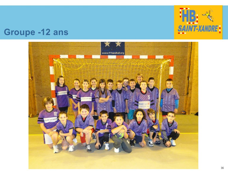 35 Groupe -12 ans
