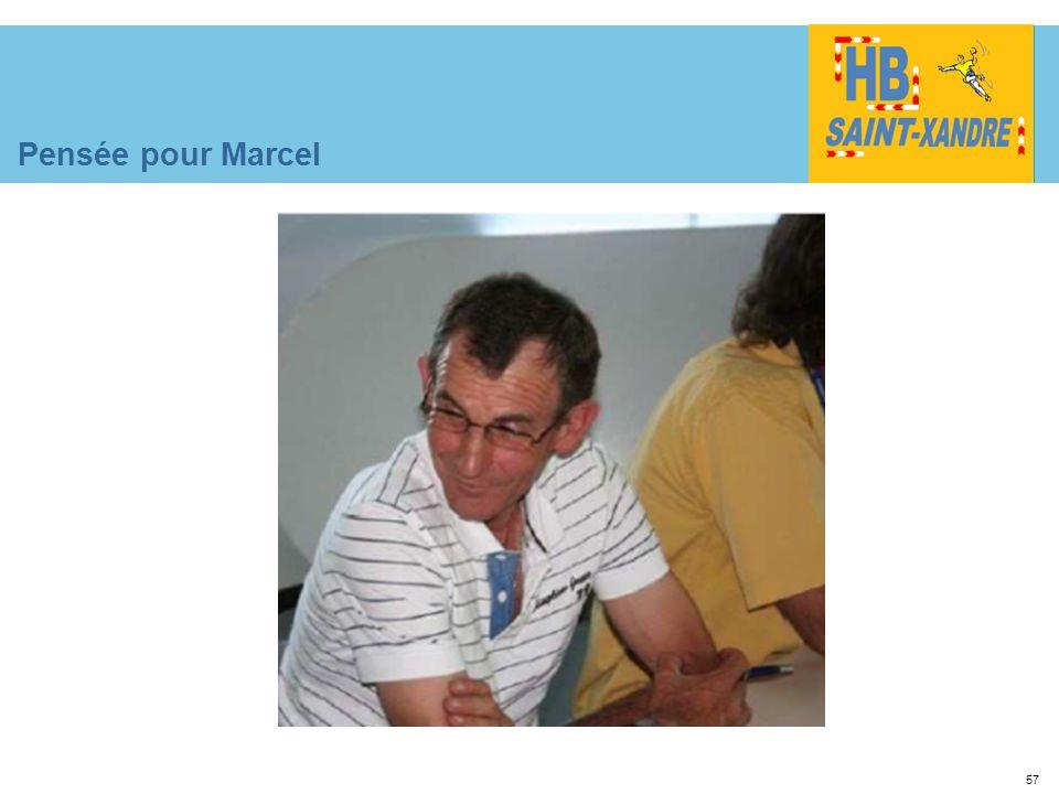 57 Pensée pour Marcel