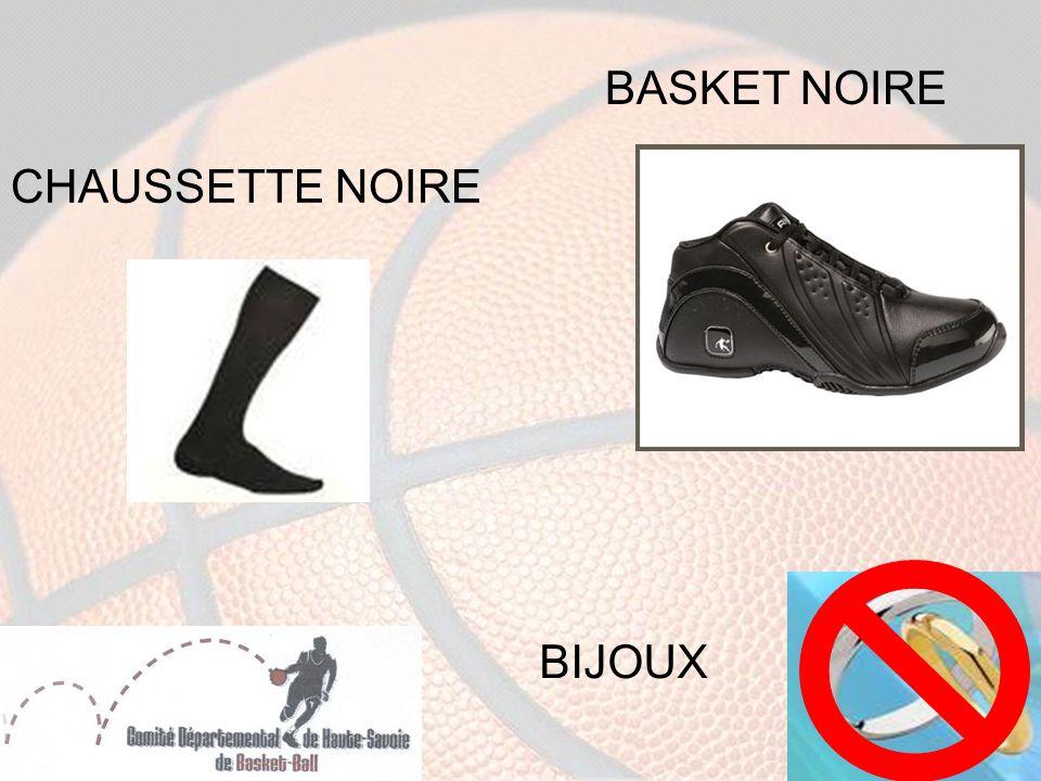BASKET NOIRE CHAUSSETTE NOIRE BIJOUX