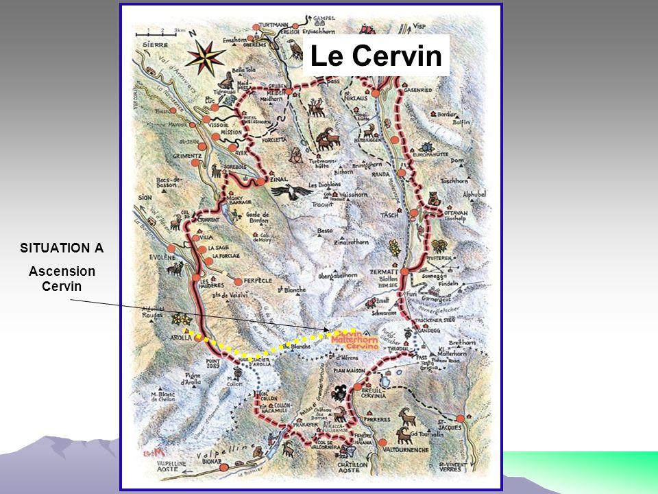 SITUATION A Ascension Cervin Le Cervin