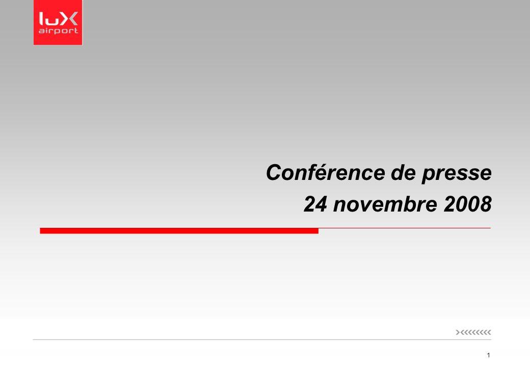 1 Conférence de presse 24 novembre 2008