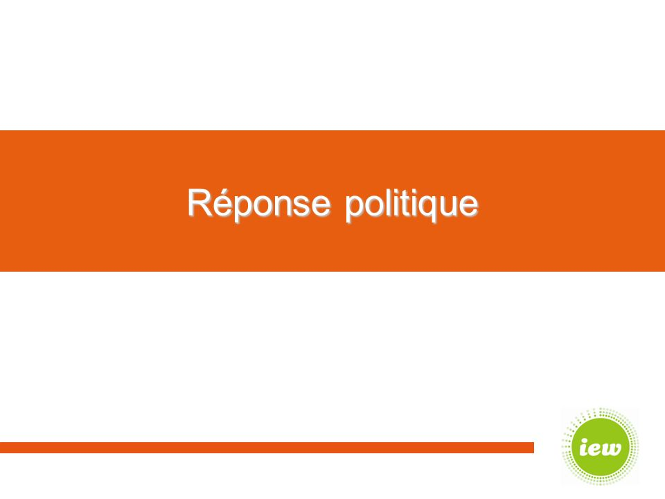Réponse politique