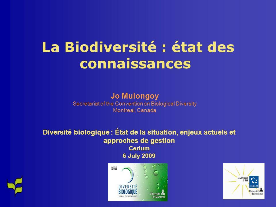 Par endroits et pour certains éléments de la biodiversité, il y a eu du succès. Par exemple: