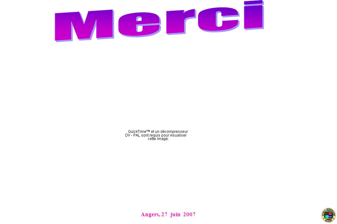 Angers, 27 juin 2007
