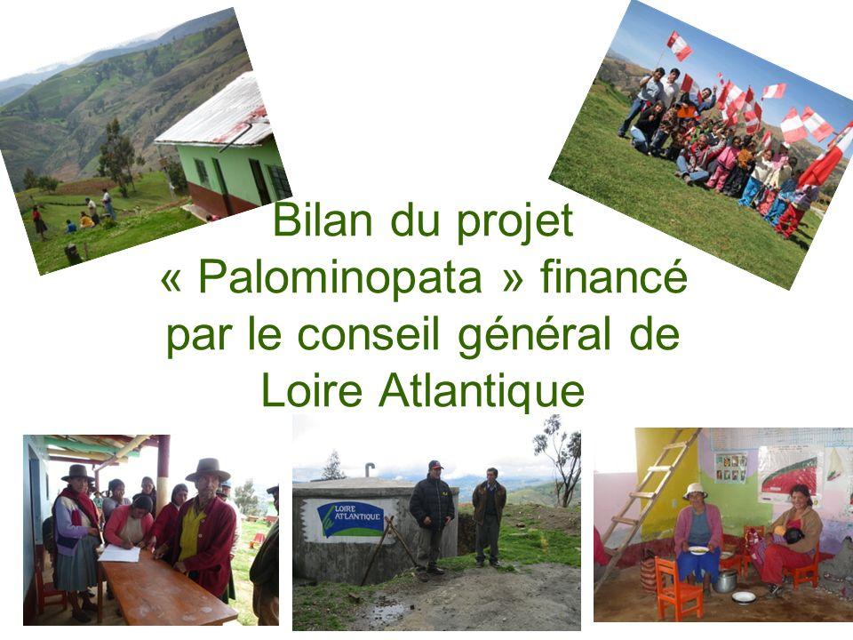 Le contexte Cette communauté se situe dans une zone agricole pauvre.