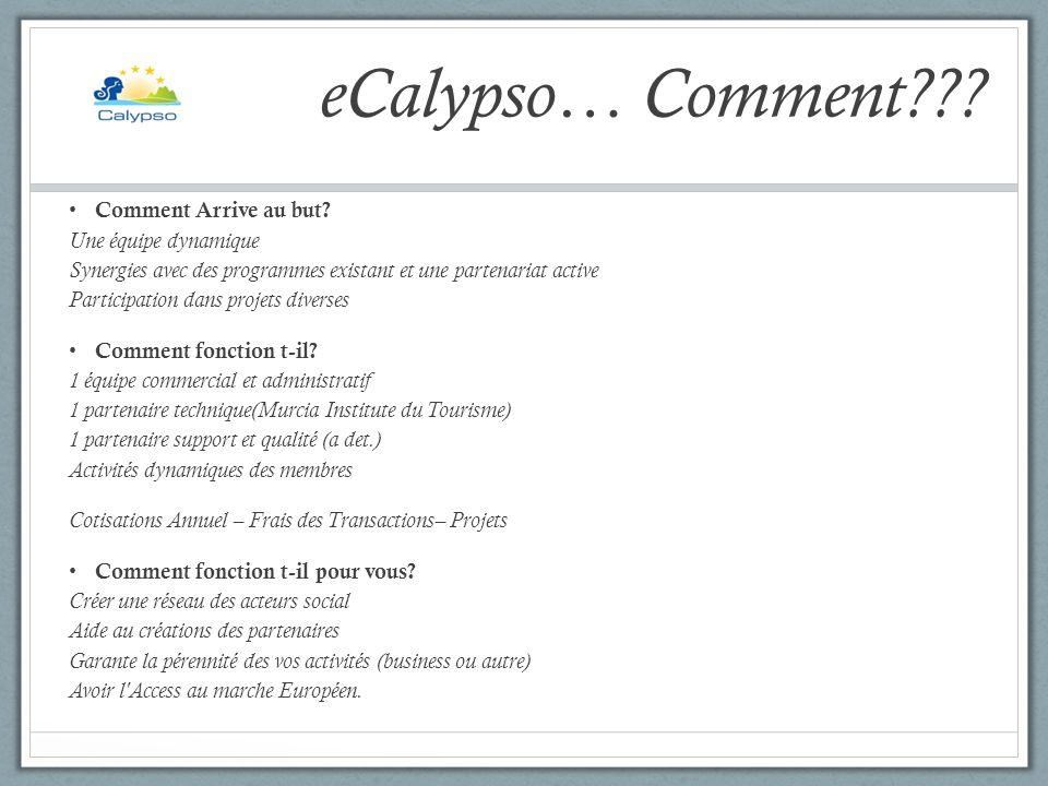 eCalypso… Aujourdhui et Demain??.