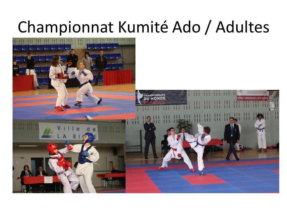 Championnat Kumité Ado / Adultes