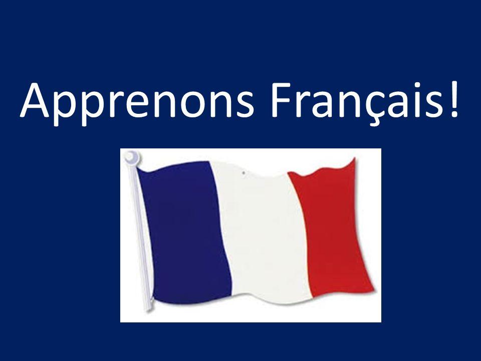 Apprenons Français!