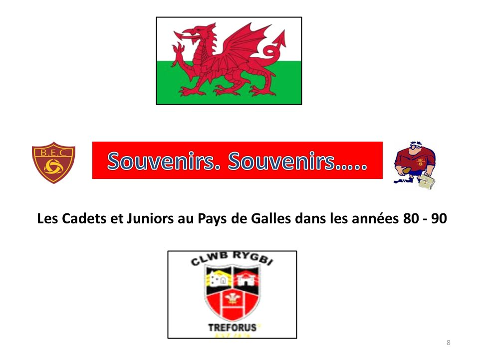Les Cadets et Juniors au Pays de Galles dans les années 80 - 90 8