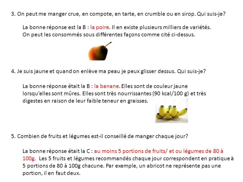 6.De quel pourcentage deau sont composés les fruits et légumes.