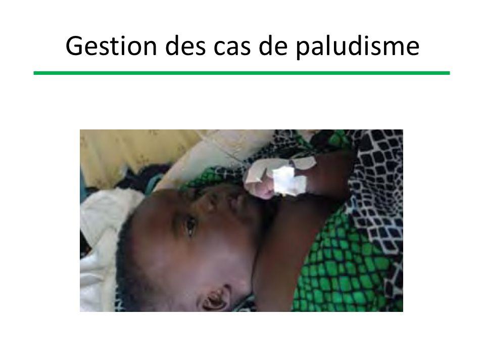 Gestion des cas de paludisme