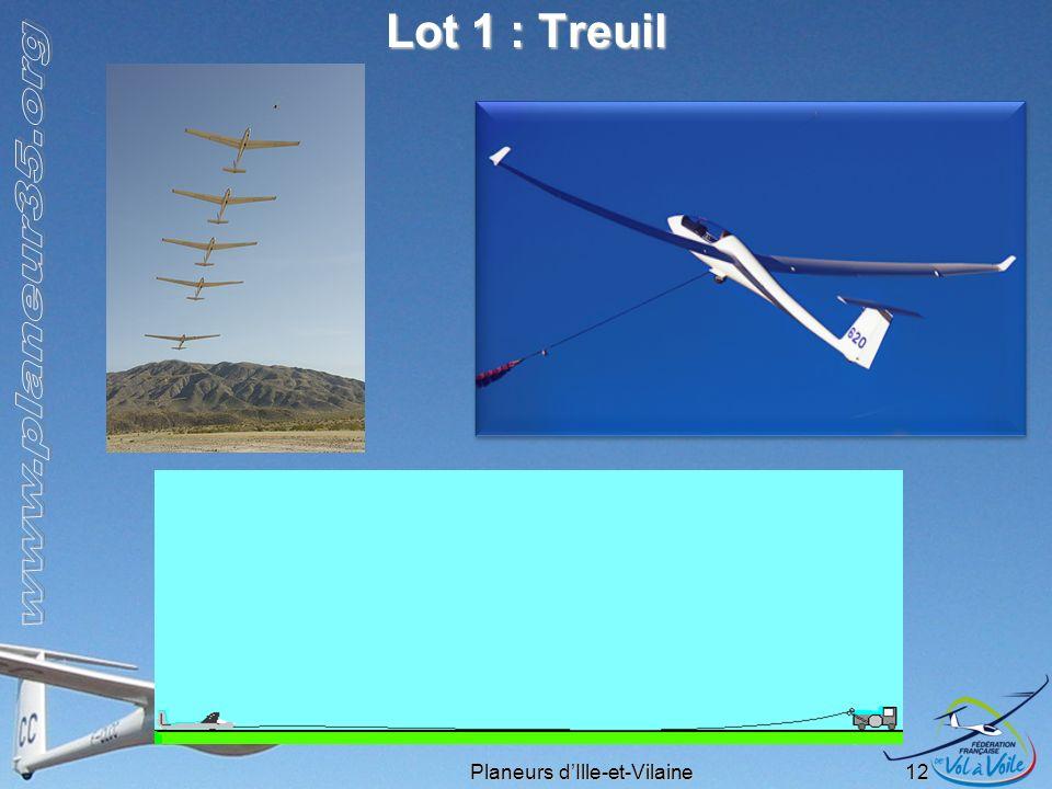 Planeurs dIlle-et-Vilaine 12 Lot 1 : Treuil