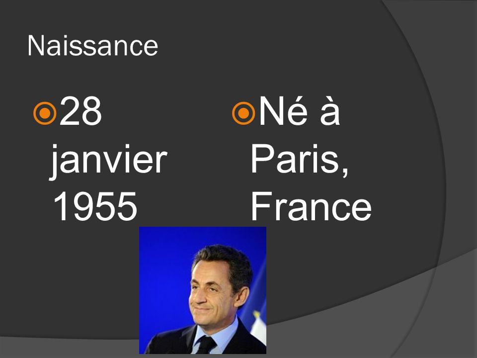Famille Parents: Immigré hongrois, Pal Sarkozy de Nagy-Bocsa Mère française, Andrée Mallah Il était un enfant unique