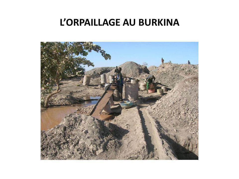 LORPAILLAGE AU BURKINA