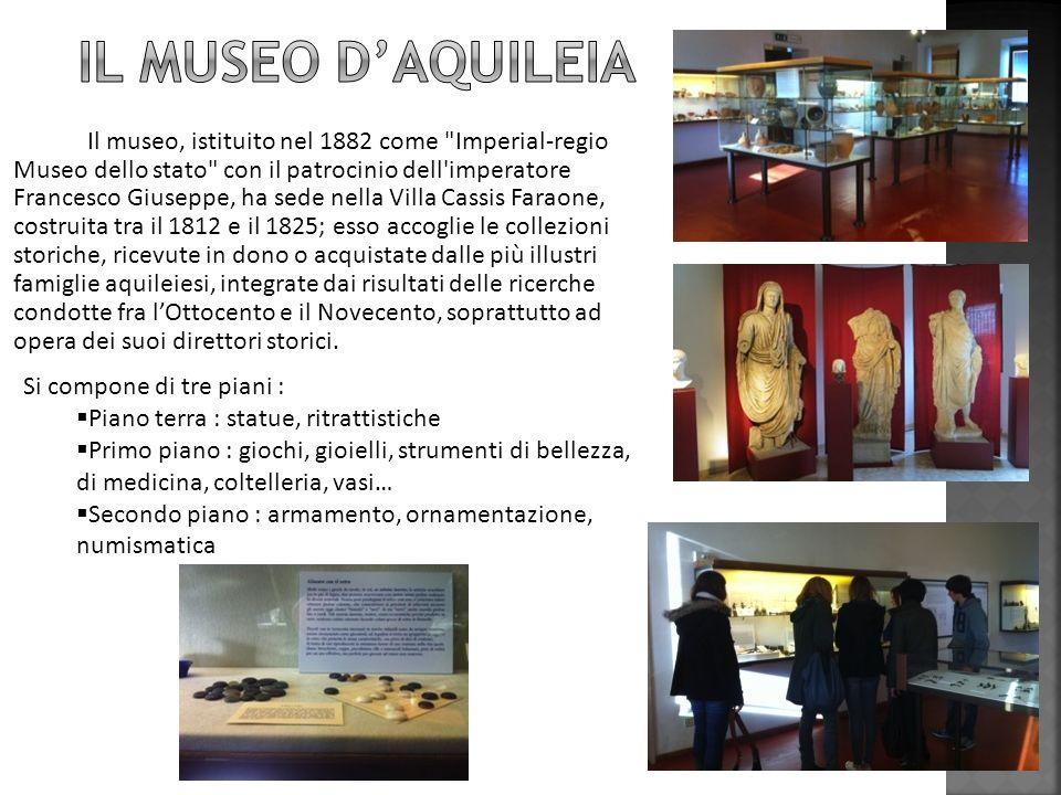 Il museo, istituito nel 1882 come