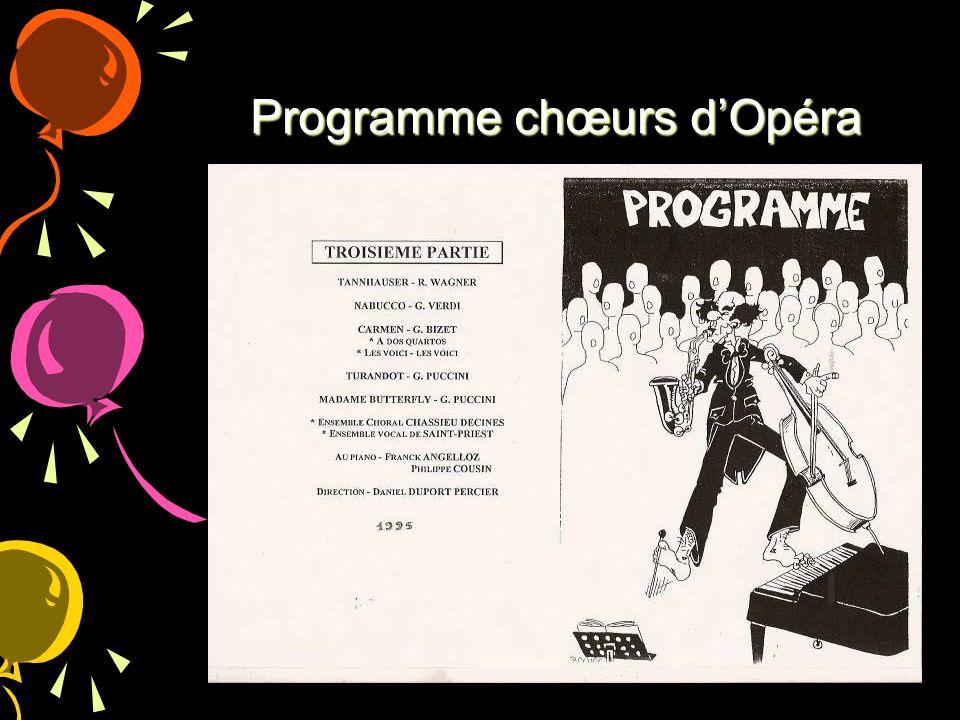Programme chœurs dOpéra