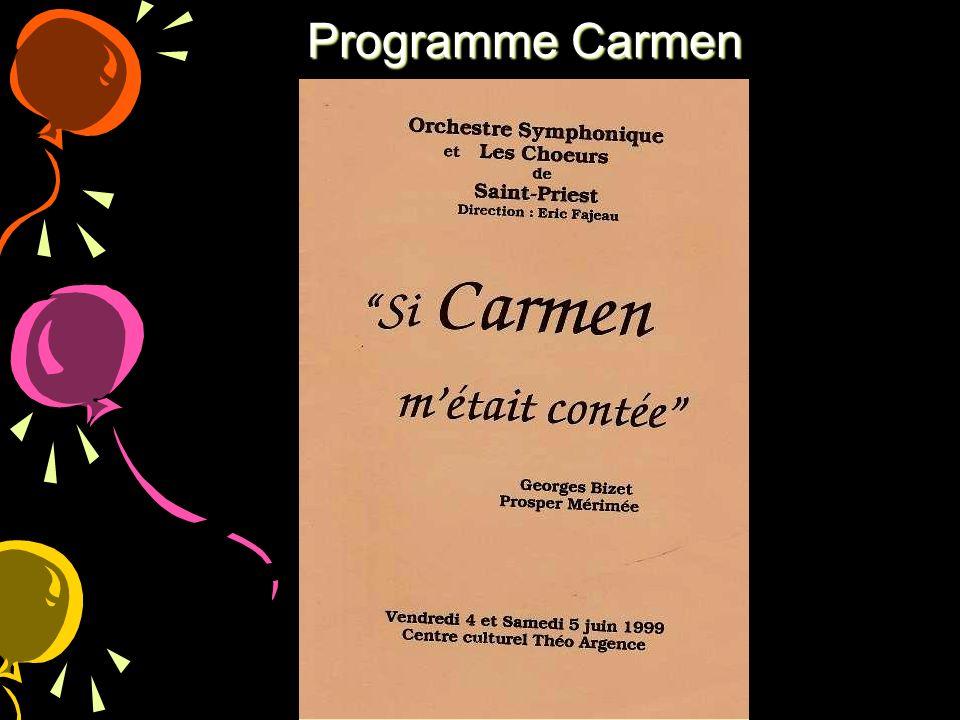 Programme Carmen