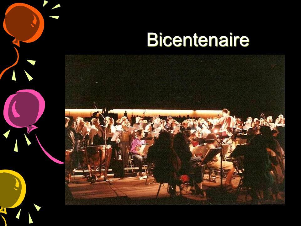 Saison 1993-1994 Le Grand Chœur chantait Schubert, Cantique de Jean Racine Funérailles de la Reine Mary de Purcell Messe du couronnement et Messe en Do de Mozart… Concerts: En octobre au Luminier de Chassieu, En novembre avec lOrchestre Symphonique au CCTA.