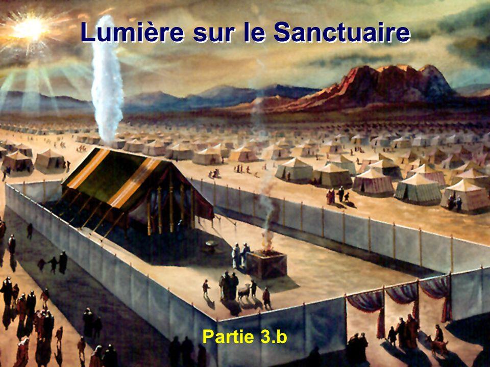 Partie 3.b Lumière sur le Sanctuaire