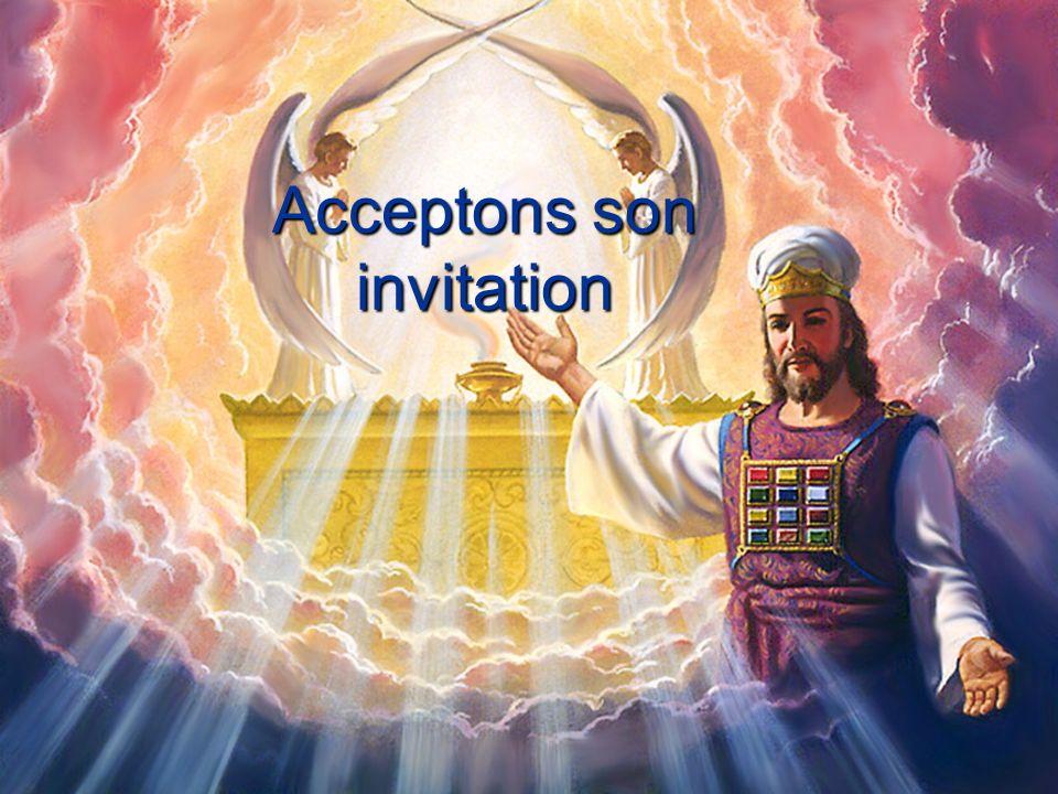 Acceptons son invitation
