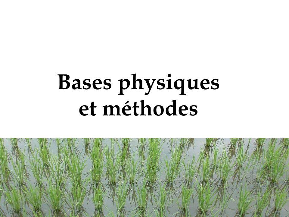 7 Bases physiques et méthodes
