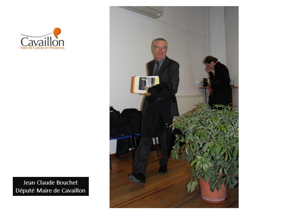 Jean Claude Bouchet Député Maire de Cavaillon