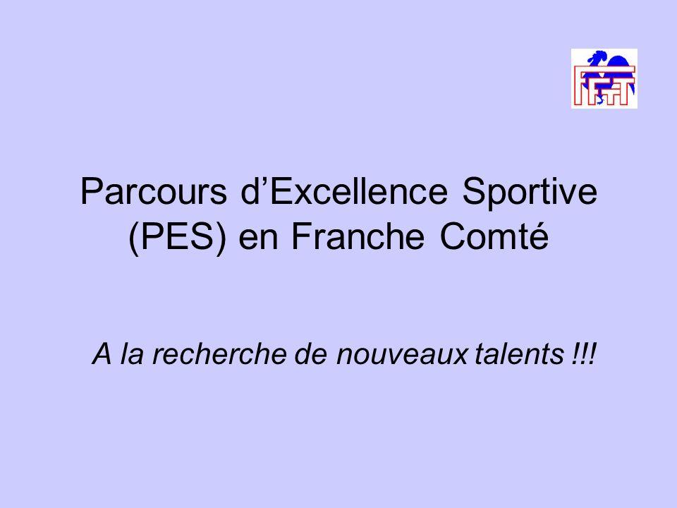 Parcours dExcellence Sportive (PES) en Franche Comté A la recherche de nouveaux talents !!!