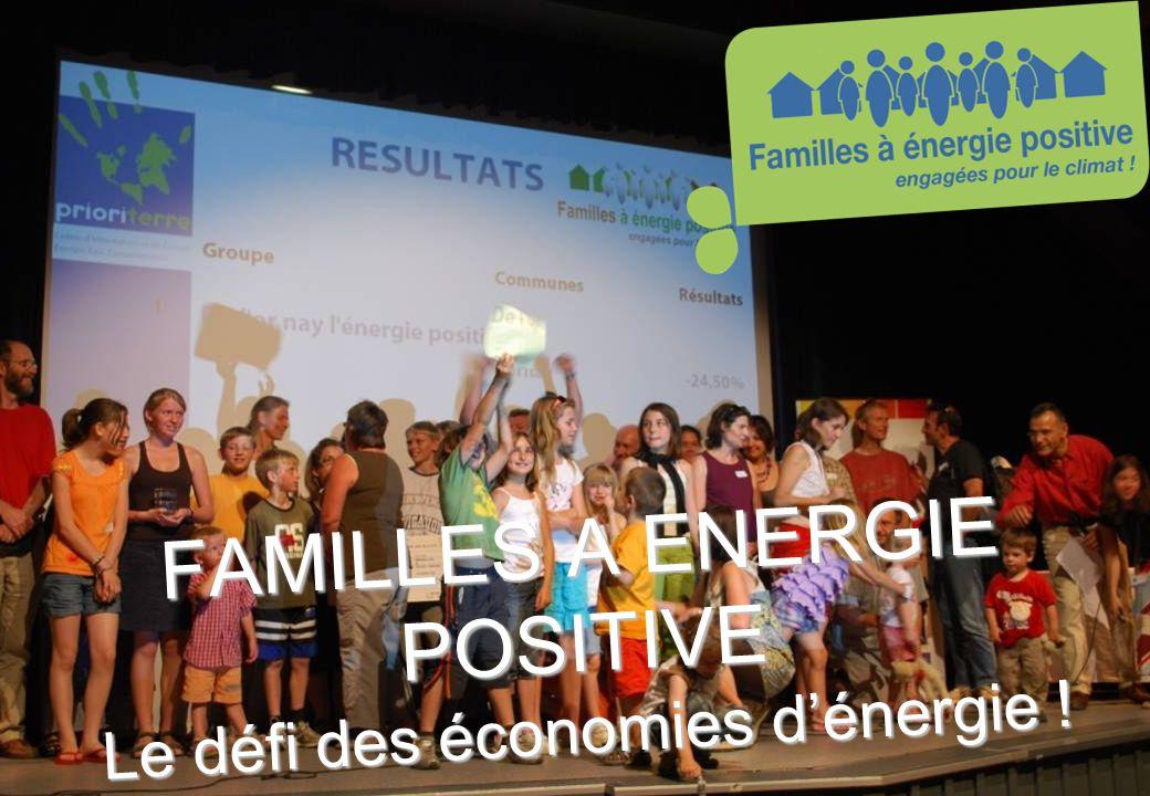 www.familles-a-energie-positive.fr FAMILLES A ENERGIE POSITIVE Le défi des économies dénergie !