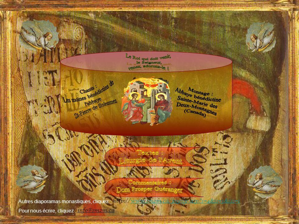 Les grandes antiennes « Ô » de lAvent www.sm2m.ca