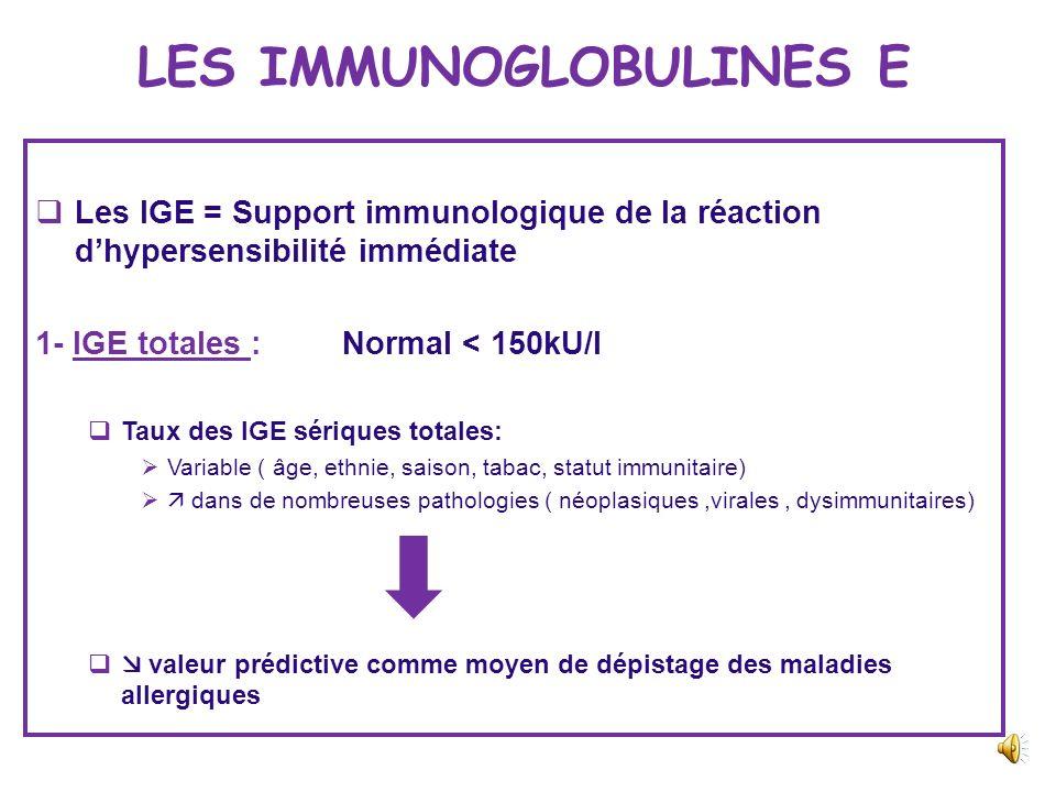 TESTS MULTIALLERGENIQUES Tests multi allergéniques = plusieurs allergènes testés simultanément, mélangés dans le même réactif ou fixés sur le même sup