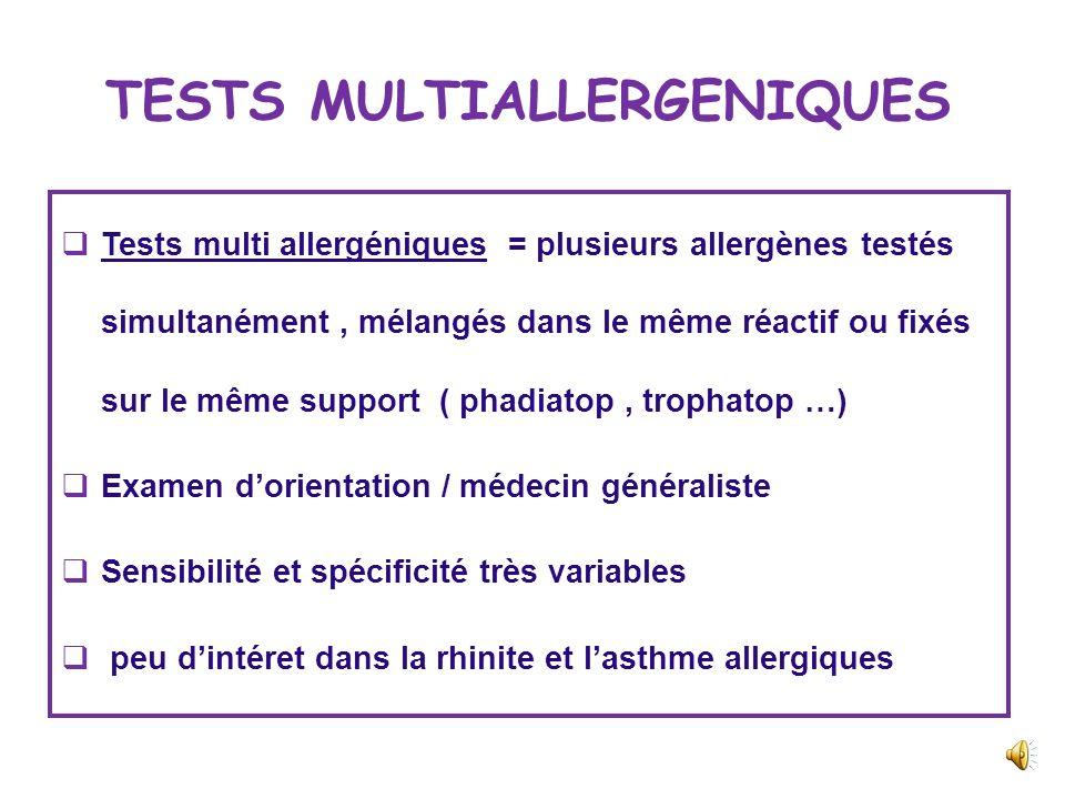 LES BASOPHILES Peu dinteret Taux normal compris entre 30 et 70/ mm 3 Basopénie < 15 / mm 3 Réaction allergique en cours