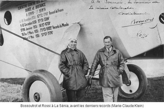 Bossoutrot et Rossi à La Sénia, avant les derniers records (Marie-Claude Klein)