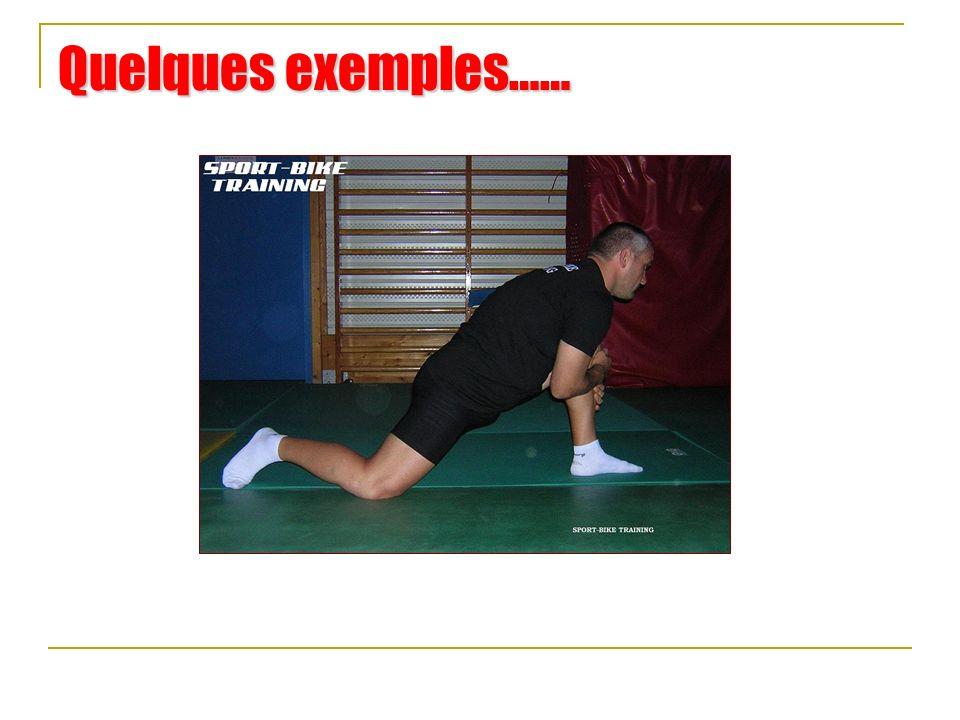 La récupération Mise en place de techniques de récupération et de prévention stretching Mise en place du stretching pour.Une meilleure récupération.Une amélioration de la mobilité.Une augmentation de lamplitude gestuelle.Une amélioration de la qualité et de la vitesse gestuelle sur la moto.