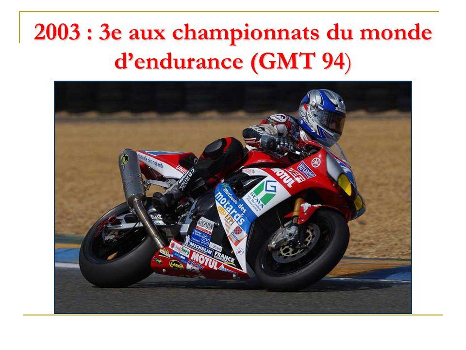 2002 : 3e aux 24h du Mans (Free Bike)
