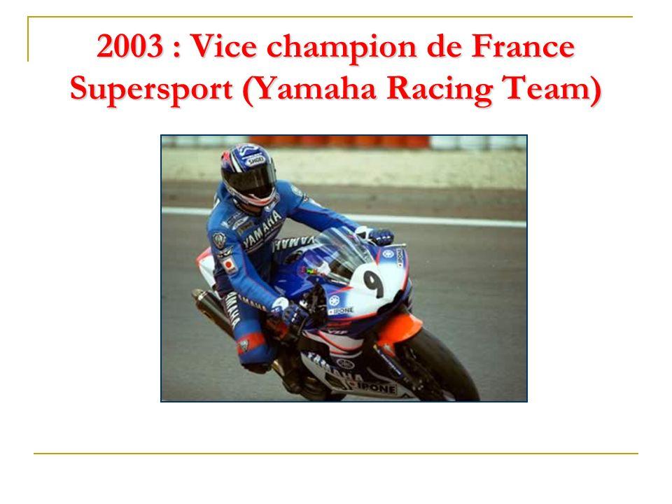 2003 : 3e aux championnats du monde dendurance (GMT 94)