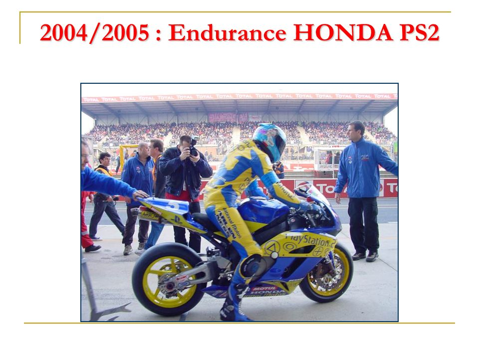2003 : Vice champion de France Supersport (Yamaha Racing Team)