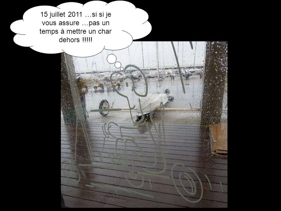 15 juillet 2011 …si si je vous assure …pas un temps à mettre un char dehors !!!!!