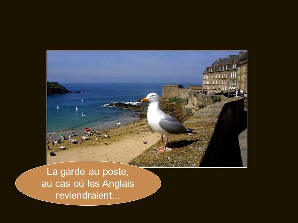 «Ni Français, ni Breton, Malouin suis», telle est la devise des habitants de cette ville fortifiée.