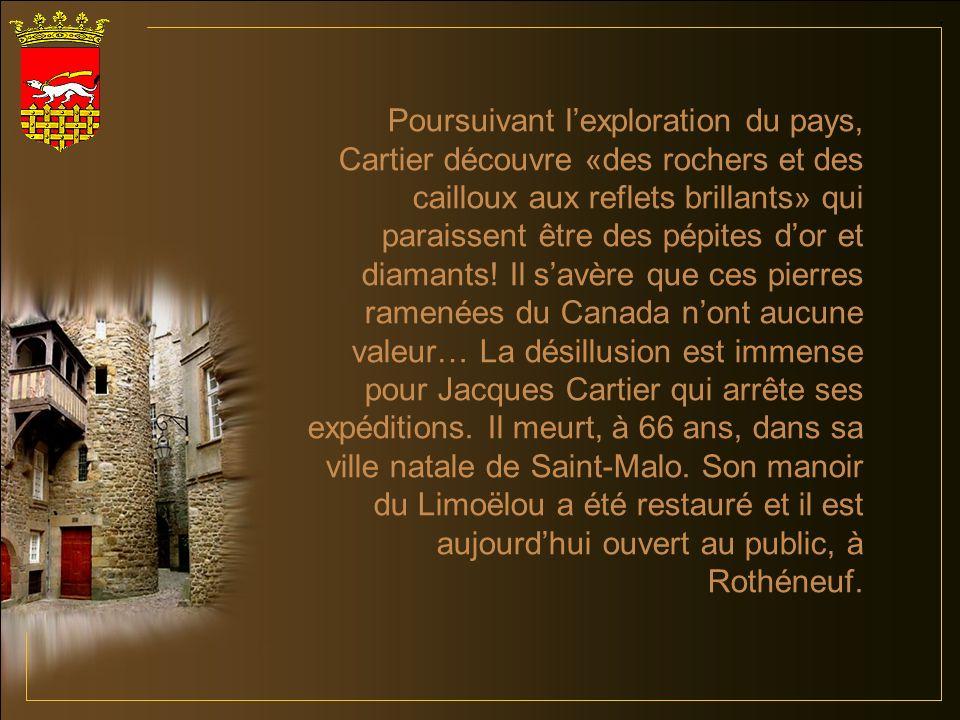Pour les Québécois la ville de Saint-Malo a des résonances particulières.