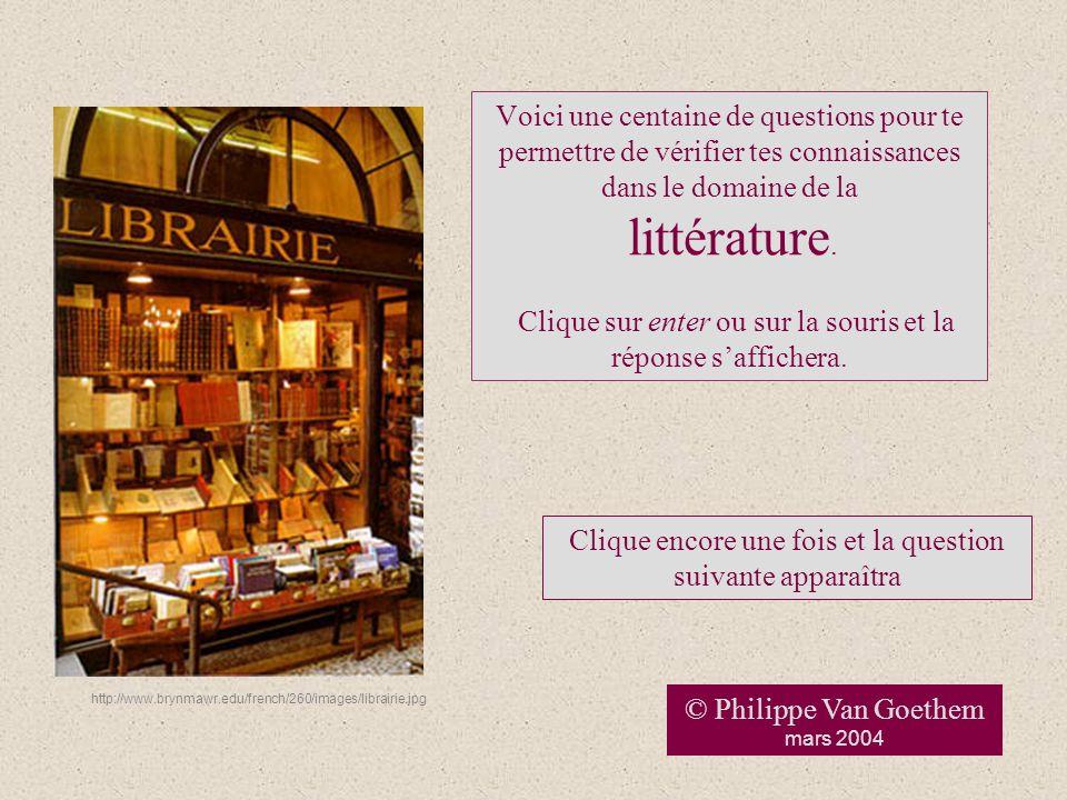 Auteurs, œuvres et mouvements littéraires 2 Ce diaporama est illustré à laide dimages recueillies sur linternet avec mention de la source.