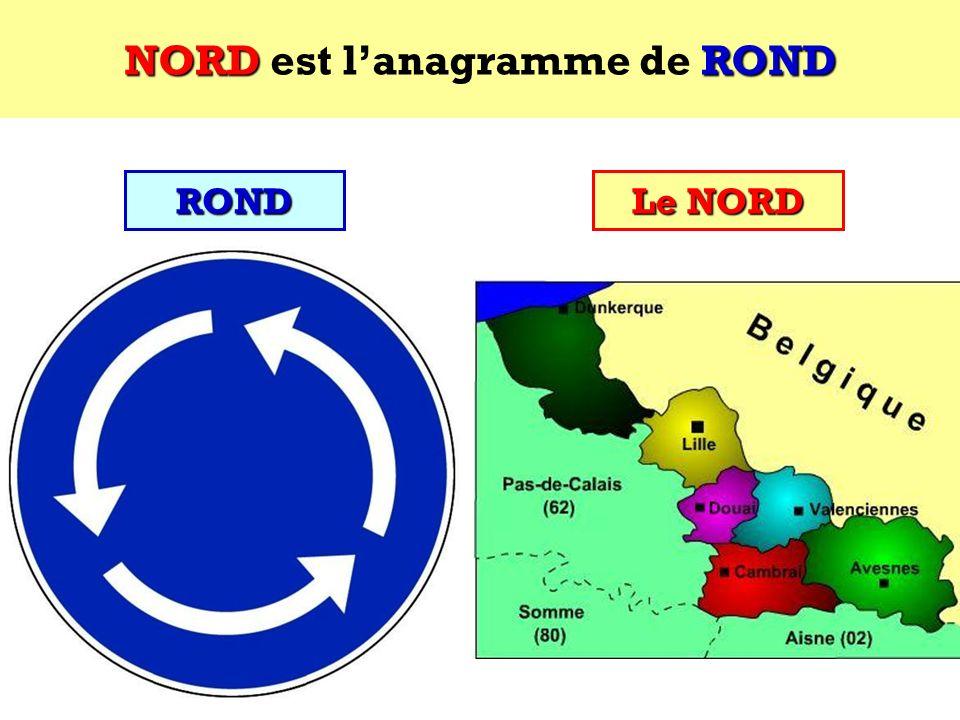 ROND Quel est lanagramme de ROND ? Cest un département français ! ROND