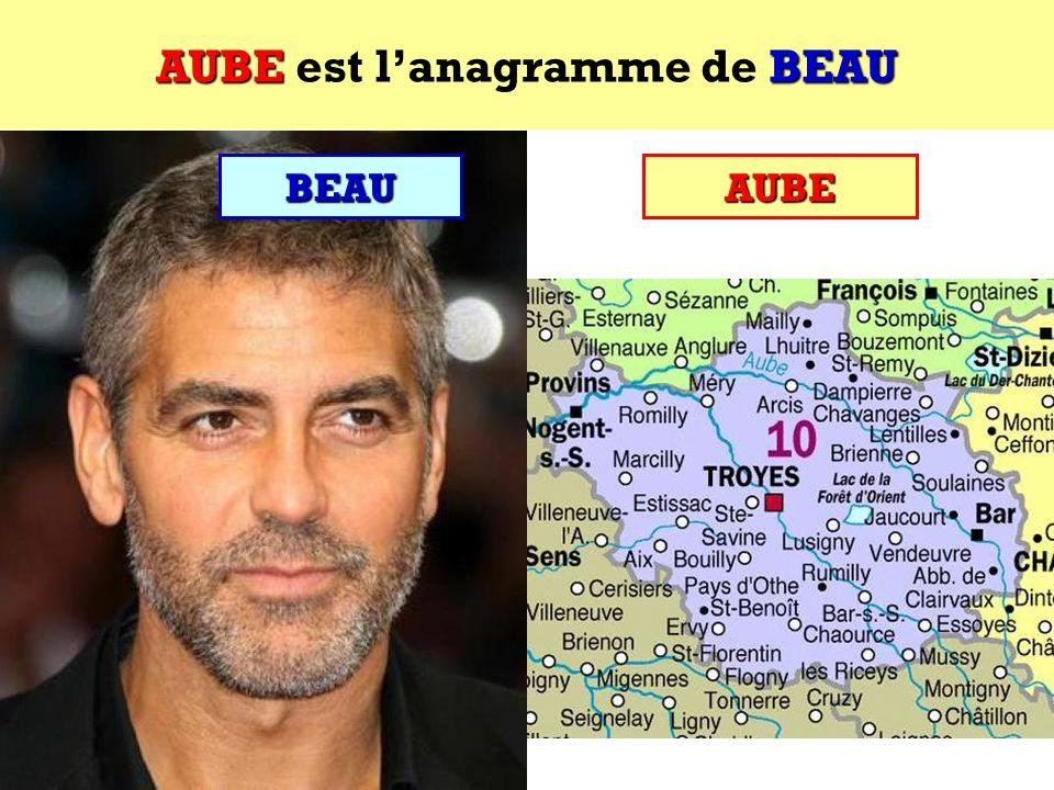 BEAU Quel est lanagramme de BEAU ?BEAU Cest un département français !