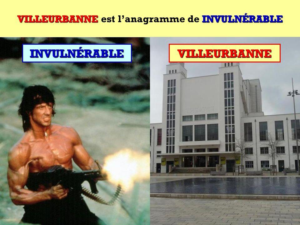 INVULNÉRABLE Quel est lanagramme de INVULNÉRABLE ?INVULNÉRABLE Cest une ville française !