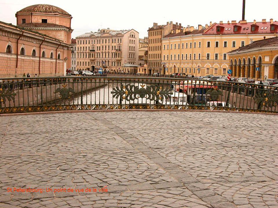 St Petersbourg: Vue sur la mer du Nord depuis le PETERHOF