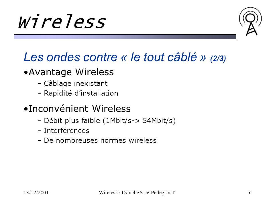 13/12/2001Wireless - Donche S.